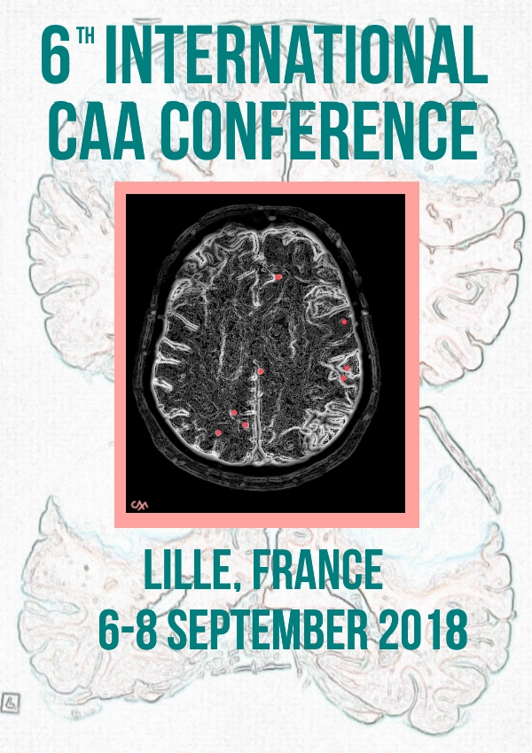 International Conference on Cerebral Amyloid Angiopathy – 6 au 8 septembre 2018 – Lille