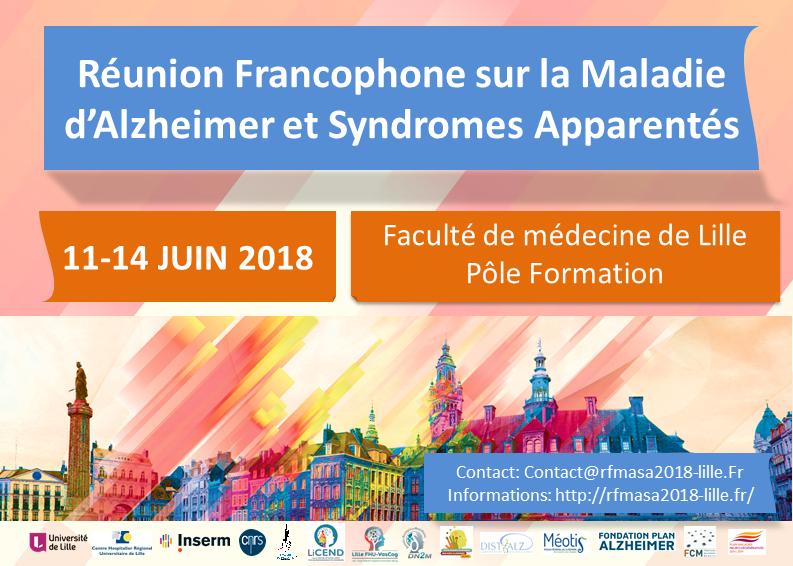 Réunion Francophone sur la Maladie d'Alzheimer et Syndromes Apparentés