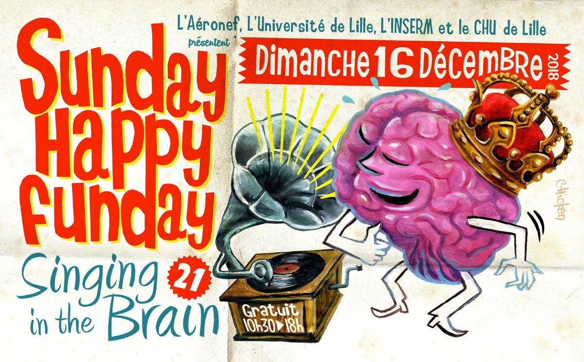 Singing In The Brain: Sunday Happy Funday – Aéronef – 16/12/2018