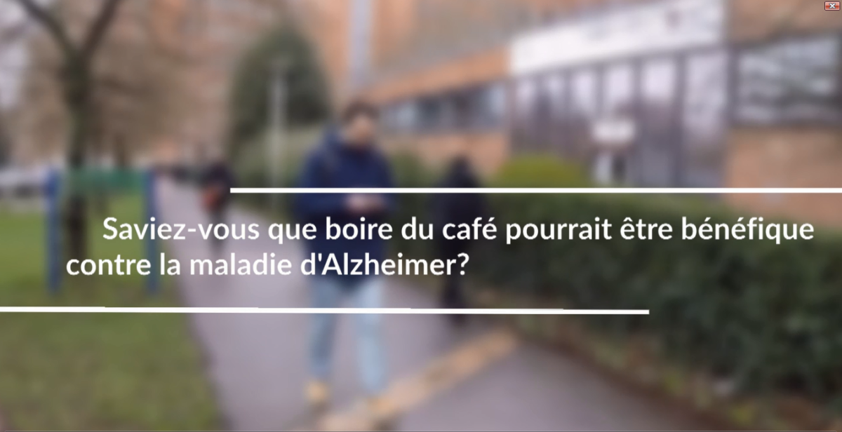 Cafeine to prevent Alzheimer disease? CAFCA clinical trial at the Lille University Hospital